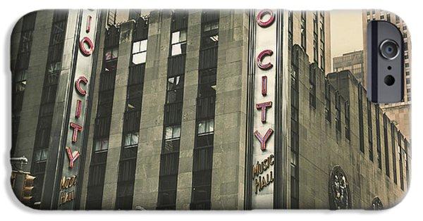 Radio City Hall IPhone Case by Andrew Paranavitana