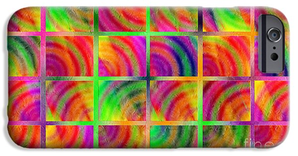 Rainbow Bliss 3 - Over The Rainbow H IPhone 6s Case by Andee Design