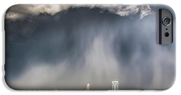 Rainbow Over Charlotte IPhone 6s Case by Chris Austin