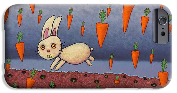 Raining Carrots IPhone 6s Case by James W Johnson