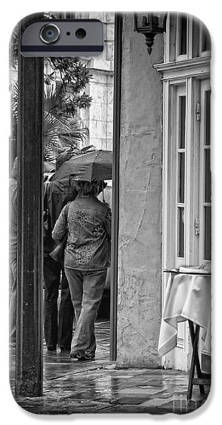 Rainy Day Lunch New Orleans IPhone 6s Case by Kathleen K Parker