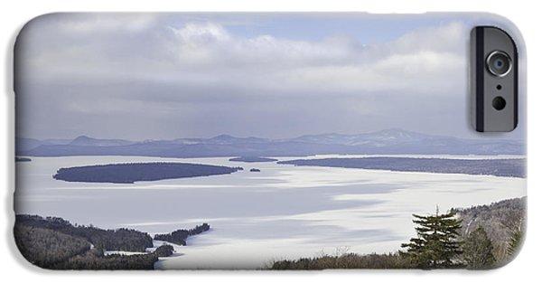 Rangeley Maine Winter Landscape IPhone Case by Keith Webber Jr