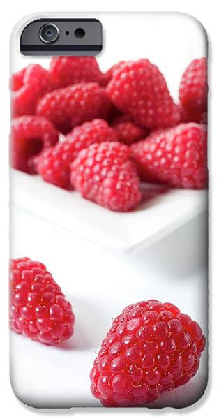 Raspberries IPhone 6s Case by Aberration Films Ltd