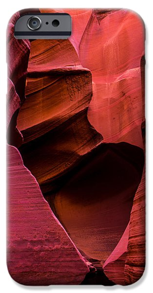 Rattlesnake Heart IPhone Case by Chad Dutson