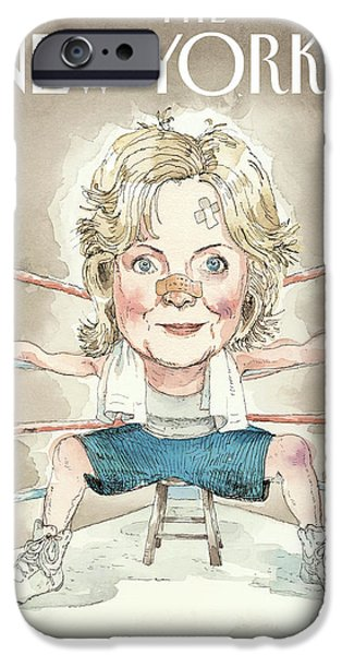 Ready For A Fight IPhone 6s Case by Barry Blitt