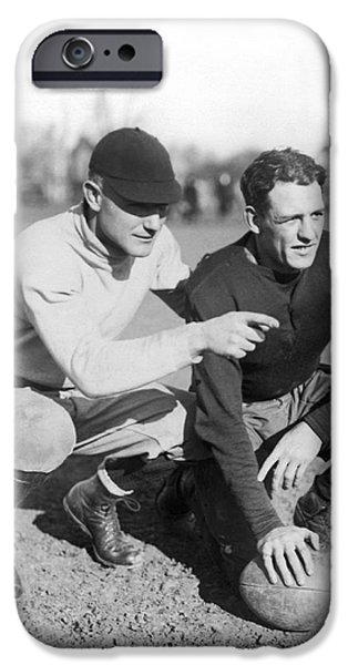 Red Grange And His Coach IPhone 6s Case by Underwood Archives