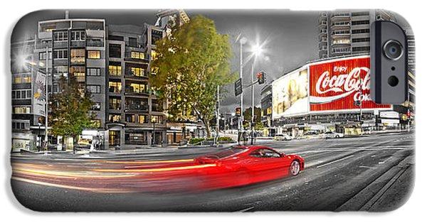 Red Lights Sydney Nights IPhone 6s Case by Az Jackson