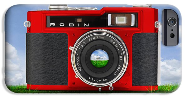 Red Robin IPhone Case by Mike McGlothlen