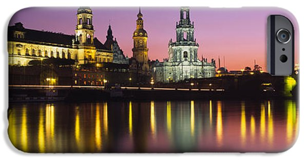 Reflection Of Buildings On Water At IPhone Case by Panoramic Images