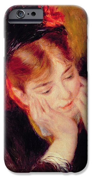 Reflection IPhone Case by Pierre Auguste Renoir