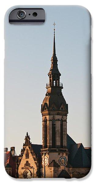 Reformed Church (evanglisch Reformierte IPhone Case by Michael Defreitas