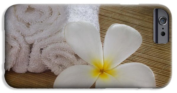 Relax At The Spa IPhone Case by Kim Hojnacki