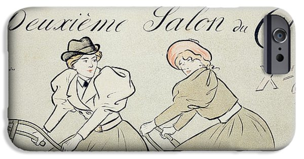 Reproduction Of A Poster Advertising IPhone Case by Jean Louis Forain