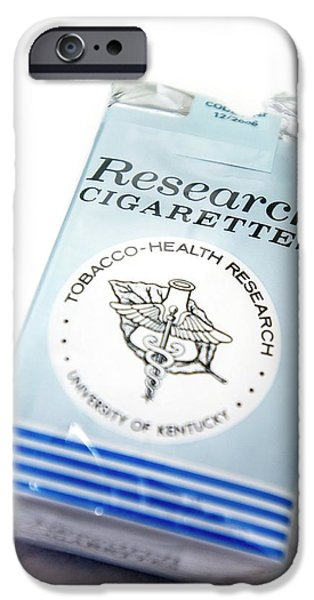 Research Cigarettes IPhone Case by Arno Massee