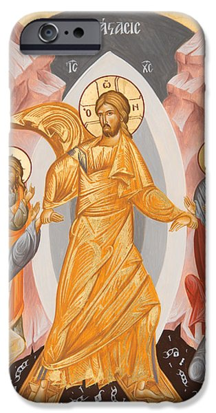 Resurrection Of Christ IPhone Case by Julia Bridget Hayes