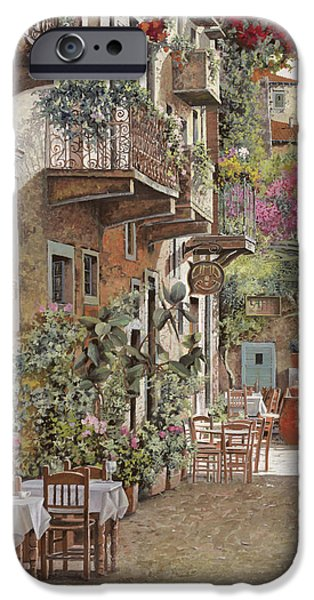 Rethimnon-crete-greece IPhone Case by Guido Borelli