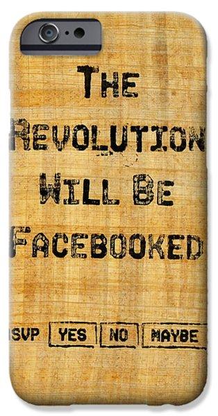 Revolution 2011 IPhone Case by Jonathan Morgan