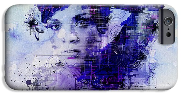 Rihanna 2 IPhone 6s Case by Bekim Art