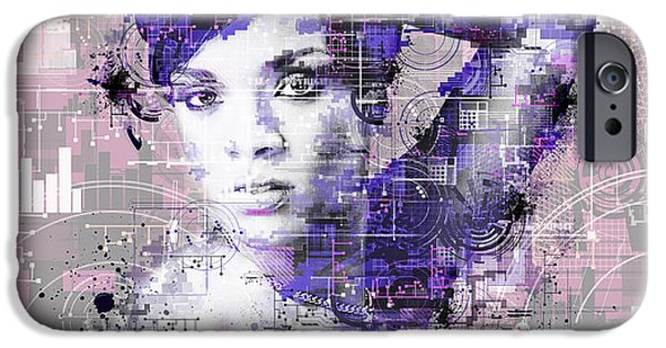 Rihanna 3 IPhone 6s Case by Bekim Art