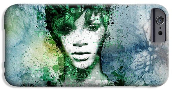 Rihanna 4 IPhone 6s Case by Bekim Art
