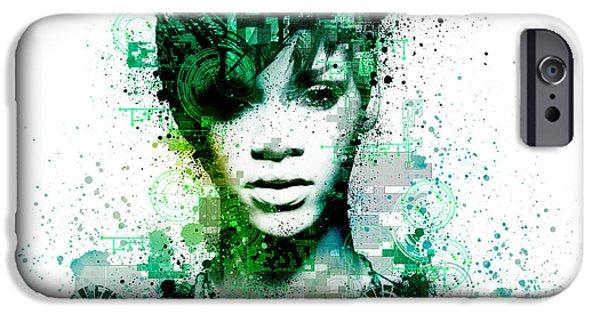 Rihanna 5 IPhone 6s Case by Bekim Art