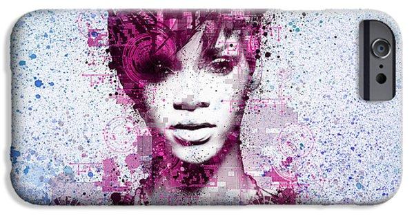 Rihanna 8 IPhone 6s Case by Bekim Art