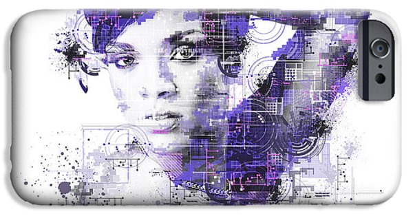 Rihanna IPhone 6s Case by Bekim Art