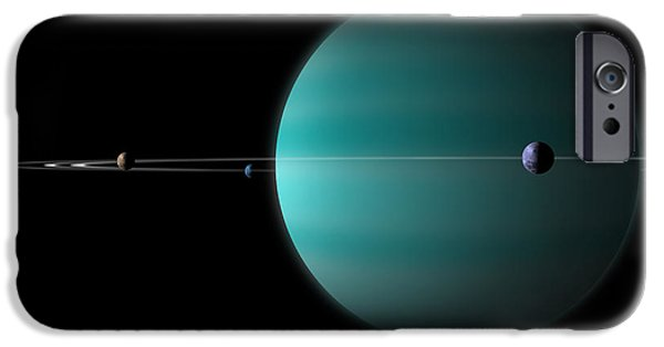 Ringed World No.5 IPhone Case by Marc Ward