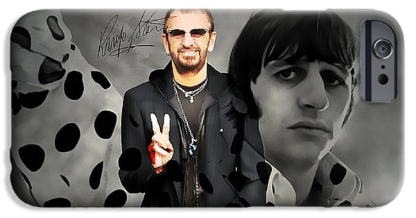Ringo Star IPhone 6s Case by Marvin Blaine