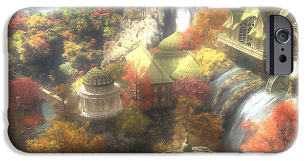 Rivendell IPhone 6s Case by Cynthia Decker