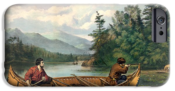 River Hunting IPhone Case by Gary Grayson