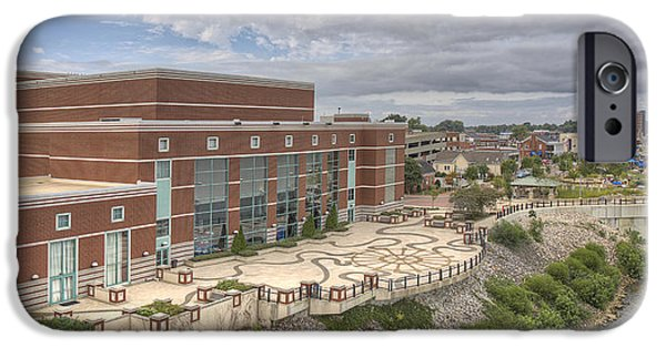 Riverpark Center And Smothers Park IPhone Case by Wendell Thompson