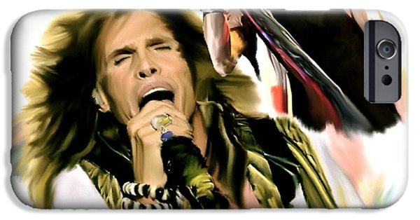 Rocks Gothic Lion II  Steven Tyler IPhone 6s Case by Iconic Images Art Gallery David Pucciarelli