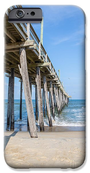 Rodanthe Pier IPhone Case by Kay Pickens