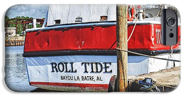 Roll Tide Stern IPhone Case by Michael Thomas