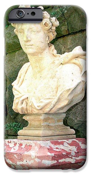 Roman Biltmore Asheville Nc IPhone Case by William Dey