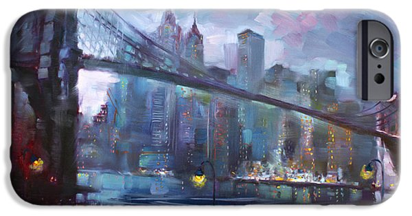Romance By East River II IPhone 6s Case by Ylli Haruni