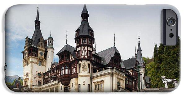 Romania, Transylvania, Sinaia, Peles IPhone 6s Case by Walter Bibikow