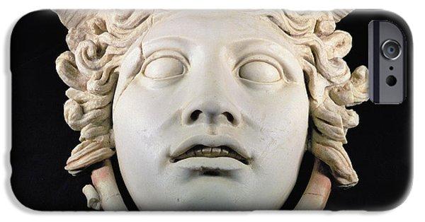 Rondanini Medusa, Copy Of A 5th Century Bc Greek Marble Original, Roman Plaster IPhone 6s Case by .