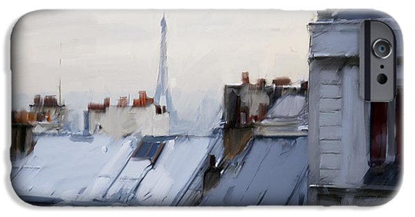 Rooftops Of Paris IPhone 6s Case by H James Hoff