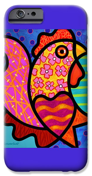 Rooster Dance IPhone 6s Case by Steven Scott