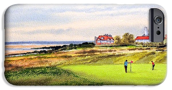 Royal Liverpool Golf Course Hoylake IPhone Case by Bill Holkham