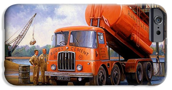 Rugby Cement Thornycroft. IPhone Case by Mike  Jeffries