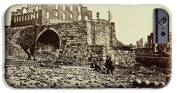Ruins Of An Ammunition Store IPhone Case by British Library