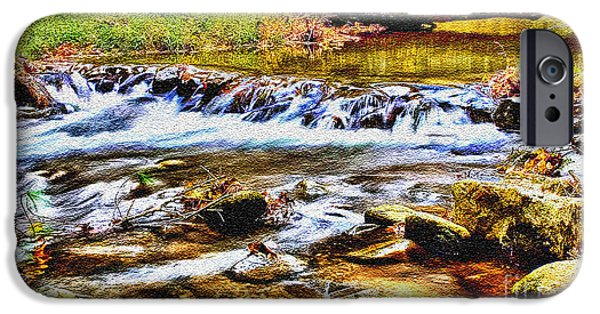 Running Stream In Yosemite National Park IPhone Case by Bob and Nadine Johnston