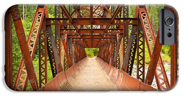 Rusty Bridge IPhone Case by Inge Johnsson