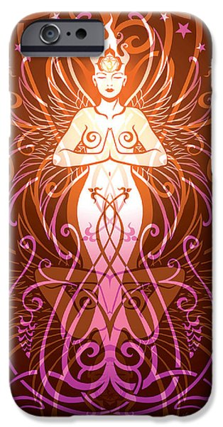 Sacred State V.2 IPhone Case by Cristina McAllister