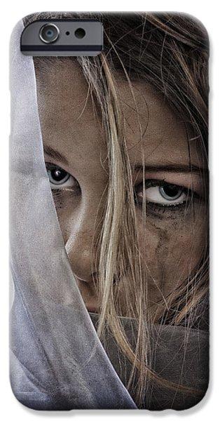 Sad Girl IPhone Case by Erik Brede