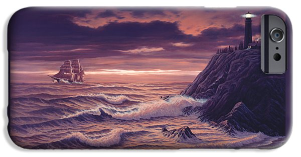 Safe Passage IPhone Case by Del Malonee