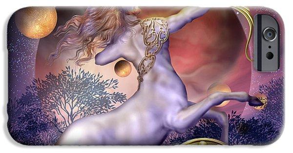 Sagittarius IPhone Case by Ciro Marchetti